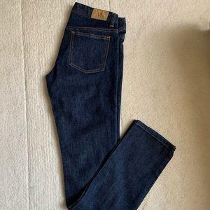 Armani Exchange skinny leg jeans size 2